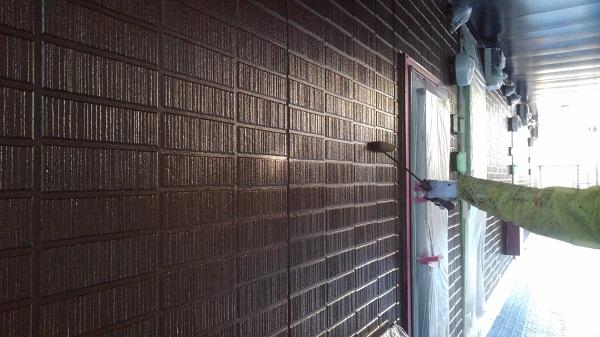 三重県松坂市 外壁塗装 アパート ラジカル制御型塗料 関西ペイント アレスダイナミックトップ