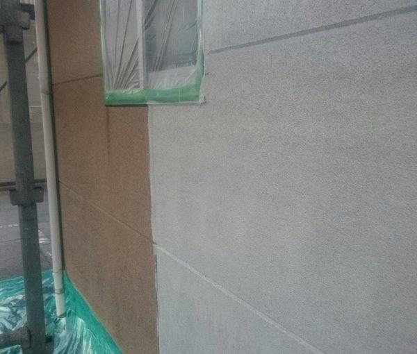 三重県松坂市 外壁塗装 下地処理 無機系塗料 ダイヤスーパーセランフレックス