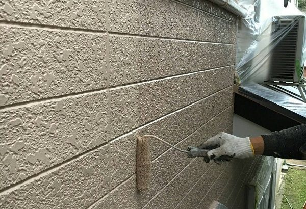 三重県津市 外壁塗装 工程 ラジカル制御型塗料 関西ペイント アレスダイナミックトップ