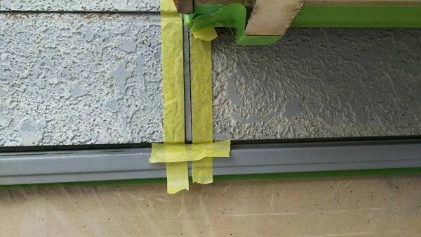 三重県津市 外壁塗装 症状 チョーキング現象 コーキング(シーリング)工事 オートンイクシード